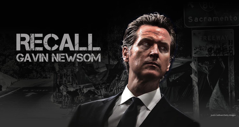 Recall Gavin Newsom!