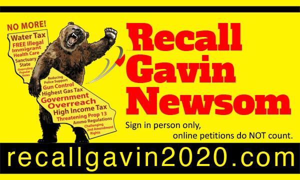 Recall Gavin Newsom - Santa Cruz Republicans